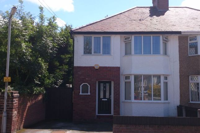 Thumbnail Semi-detached house for sale in Waverley Road, Hoylake, Wirral