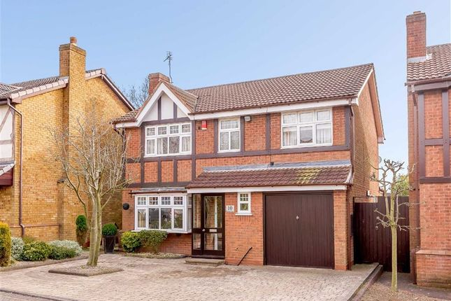Thumbnail Detached house for sale in Bluebell Road, Upper Stonnall, Walsall