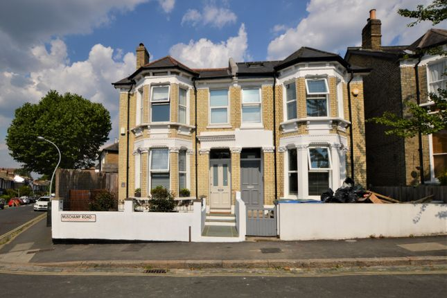 Thumbnail End terrace house to rent in Muschamp Road, London