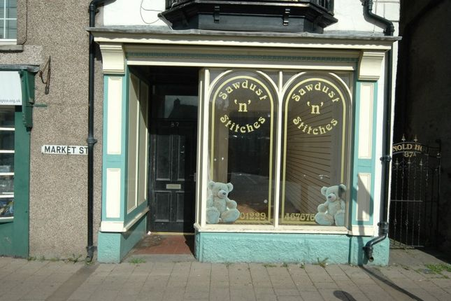 Thumbnail Retail premises for sale in 87 Market Street, Dalton In Furness, Cumbria