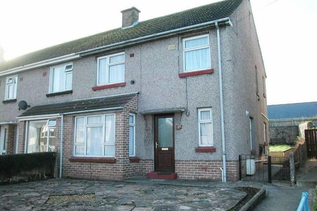 Thumbnail End terrace house to rent in Marble Hall Road, Milford Haven
