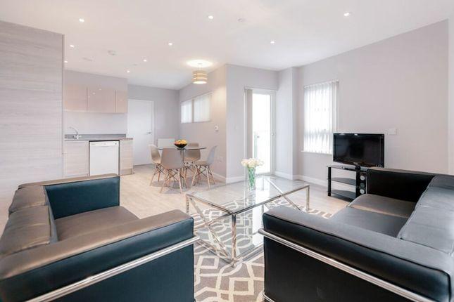Thumbnail Flat to rent in Wandle Road, Croydon