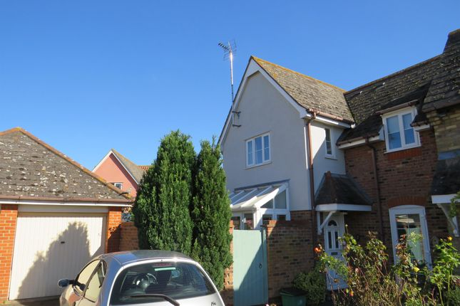 Thumbnail Semi-detached house for sale in Victoria Gardens, Highwoods, Colchester