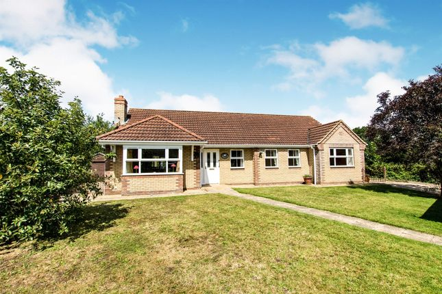 Thumbnail Detached bungalow for sale in The Paddocks, Potterhanworth, Lincoln