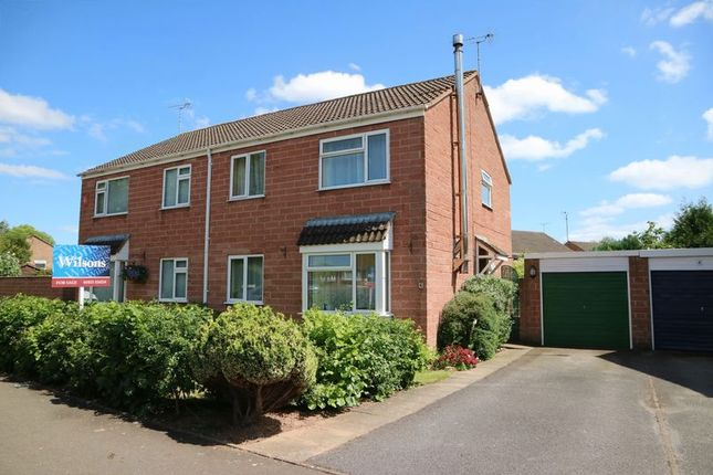 Thumbnail Semi-detached house for sale in Hudson Way, Staplegrove, Taunton