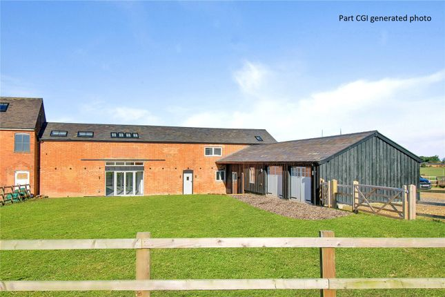 Thumbnail Barn conversion for sale in Stockerston Road, Blaston, Market Harborough