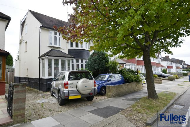 Thumbnail End terrace house for sale in Manor Drive, London