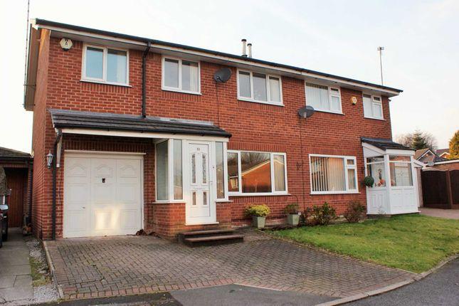 Semi-detached house for sale in Slimbridge Close, Bolton