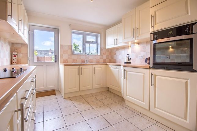 Thumbnail Terraced bungalow for sale in Orchard Close, Great Oakley, Harwich