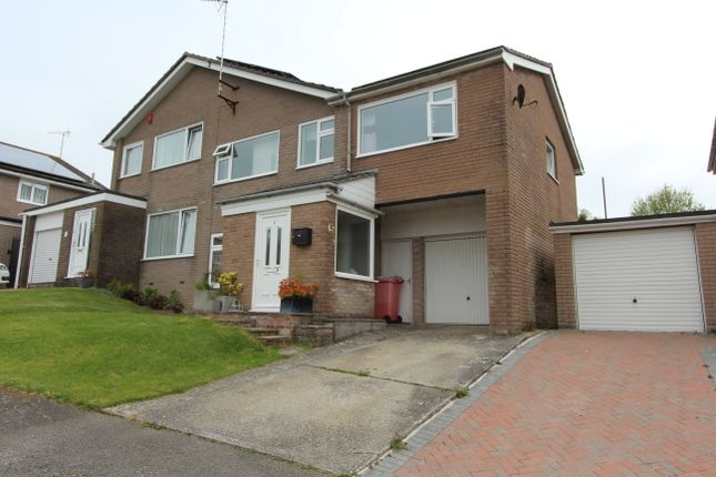 Thumbnail Semi-detached house for sale in Beech Close, Torpoint