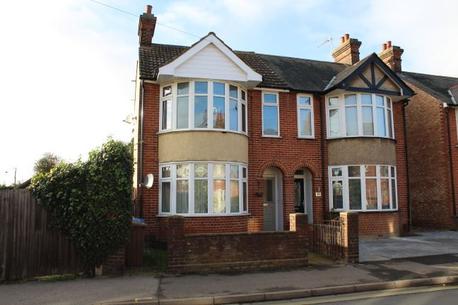 Thumbnail Semi-detached house to rent in Sidegate Lane, Ipswich