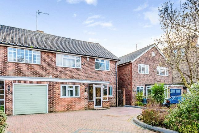 Thumbnail Semi-detached house for sale in Lesney Park Road, Erith