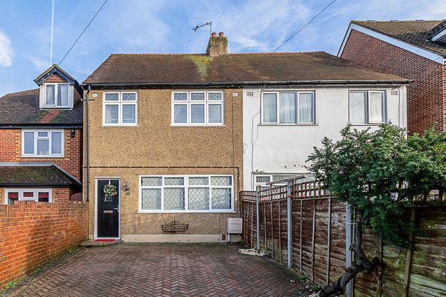 Thumbnail Terraced house for sale in Stanhope Road, Carshalton