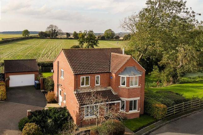 Thumbnail Detached house for sale in Westfield, Scotton, Gainsborough