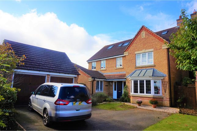 Thumbnail Detached house for sale in Lindisfarne Way, Grantham