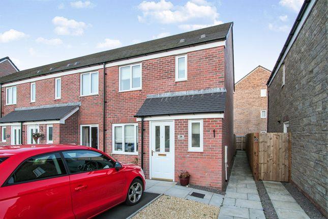 Thumbnail End terrace house for sale in Steeplechase Road, Duffryn, Newport