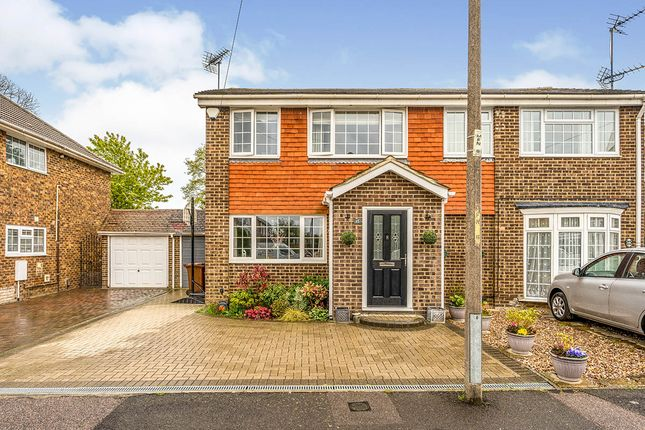 Thumbnail Semi-detached house for sale in Melody Close, Gillingham, Kent