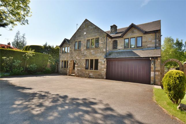 Thumbnail Detached house for sale in Woodlands Close, Scarcroft, Leeds, West Yorkshire