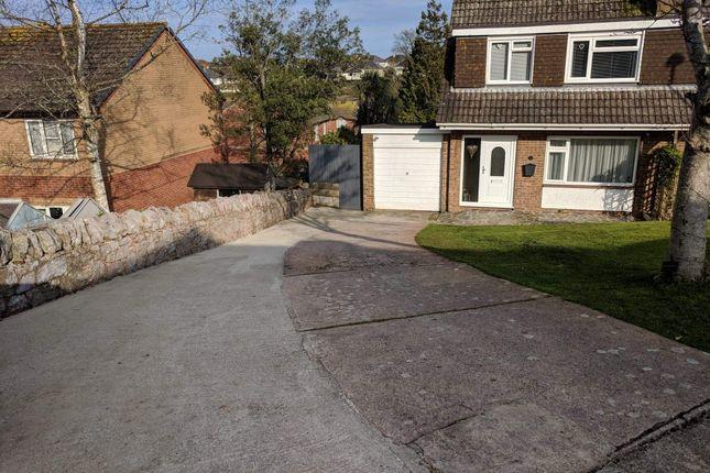 Thumbnail Semi-detached house for sale in Underidge Close, Paignton