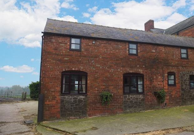 Thumbnail Cottage to rent in Crew Green, Shrewsbury