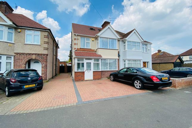 Thumbnail Semi-detached house for sale in Beverley Avenue, Hounslow