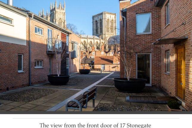 Thumbnail Flat for sale in Stonegate Court, Blake Street, York