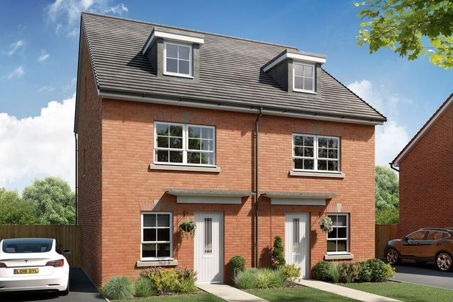 "4 bed terraced house for sale in ""Kingsville"" at The Bache, Telford TF4"