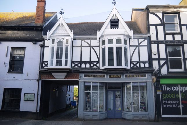 Thumbnail Flat to rent in Fore Street, Cullompton, Devon