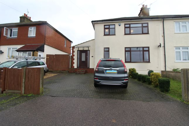 Thumbnail Semi-detached house to rent in Church Green, Rochester