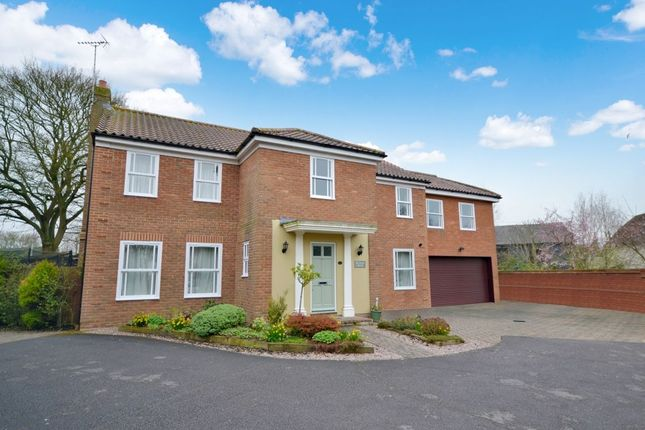 Thumbnail Detached house for sale in Riche Close, Felsted, Dunmow