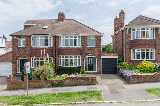 Thumbnail Semi-detached house to rent in Manor Drive North, York