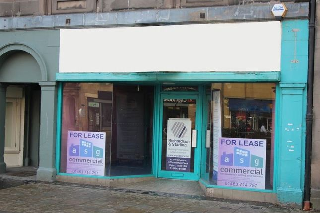 Thumbnail Retail premises to let in Retail Unit, 132 High Street, Elgin