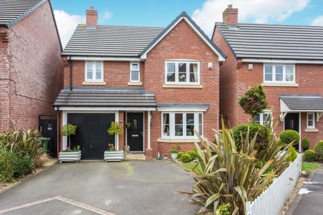 Thumbnail Detached house for sale in Beech Avenue, Woore, Shropshire