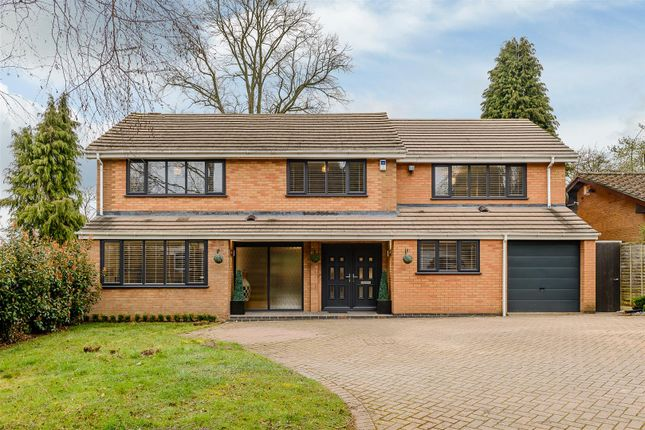 Thumbnail Detached house for sale in Fairlands Park, Off Cannon Park Road, Coventry