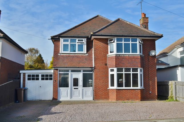 Thumbnail Detached house for sale in Surrey Road, Felixstowe