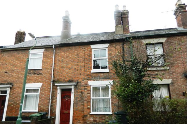 Thumbnail Terraced house for sale in 68 North Street, Castlefields, Shrewsbury. Shropshire.