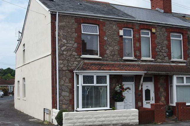 Thumbnail End terrace house for sale in Coldbrook Road East, Barry