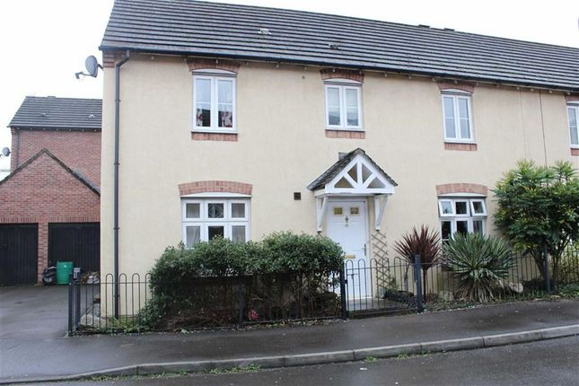 Thumbnail Semi-detached house for sale in Tir Y Farchnad, Gowerton, Swansea