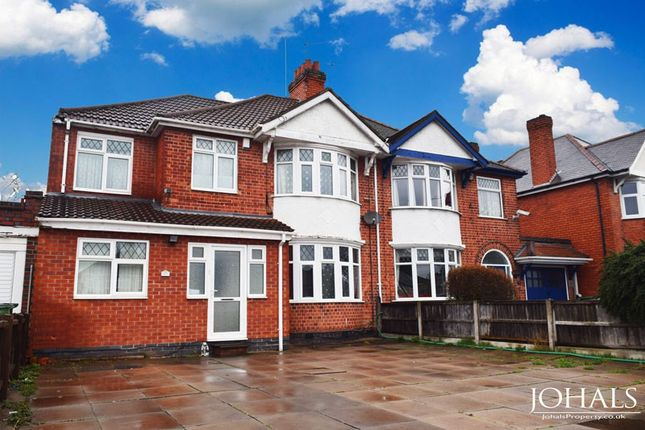 Thumbnail Semi-detached house for sale in Narborough Road South, Leicester, Leicestershire
