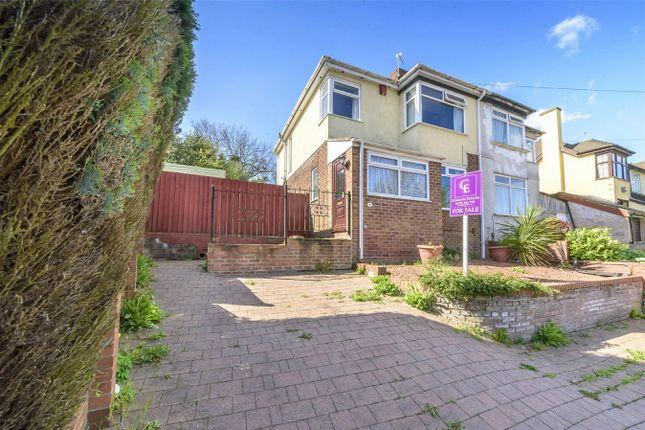 Thumbnail Semi-detached house for sale in Greenacres, Ketley Bank, Telford, Shropshire