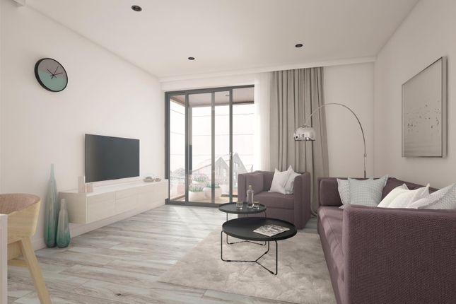 Living Room of Cornwall Works Phase 2, Russell Street, Kelham Island, Sheffield S3