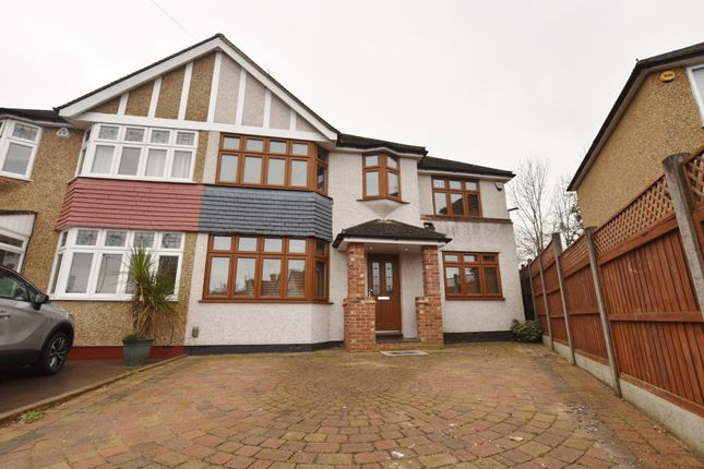 Thumbnail Semi-detached house to rent in Eastfield Avenue, Watford