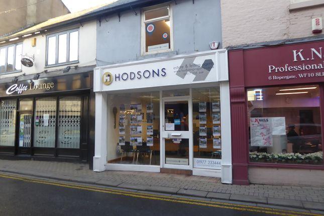 Thumbnail Retail premises for sale in Ropergate, Pontefract