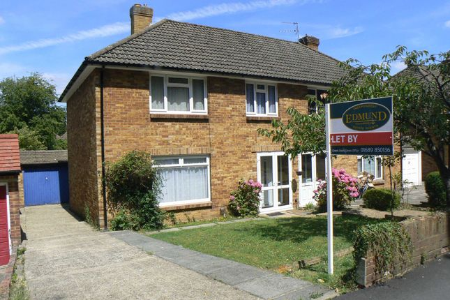 Thumbnail Semi-detached house to rent in Warren Road, Orpington