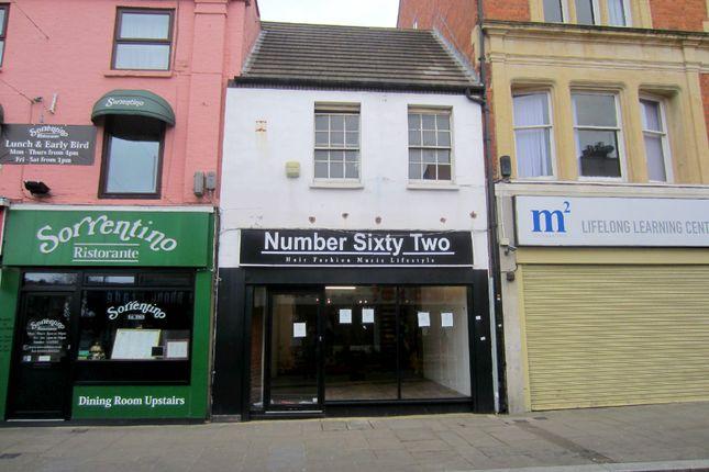 Thumbnail Retail premises for sale in Gold Street, Northampton
