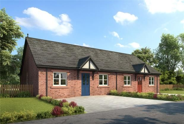 Thumbnail Semi-detached bungalow for sale in Plot 6, Thornedge Gardens, Cumwhinton, Carlisle