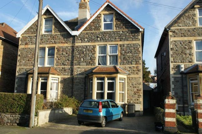Thumbnail Semi-detached house to rent in Brynland Avenue, Bishopston, Bristol