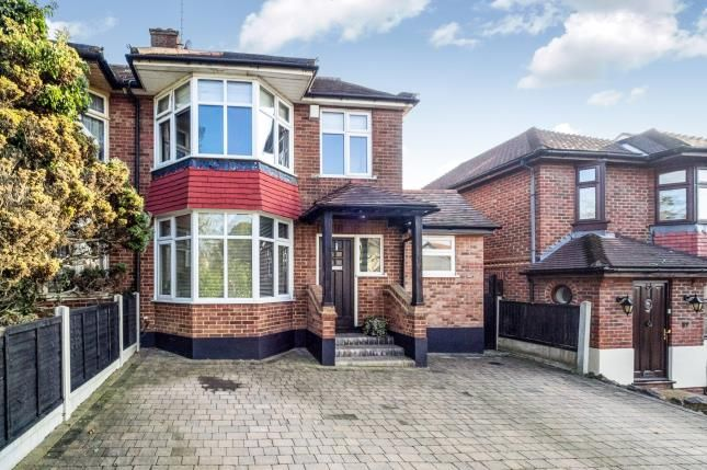 Thumbnail Semi-detached house for sale in Bower Hill, Epping