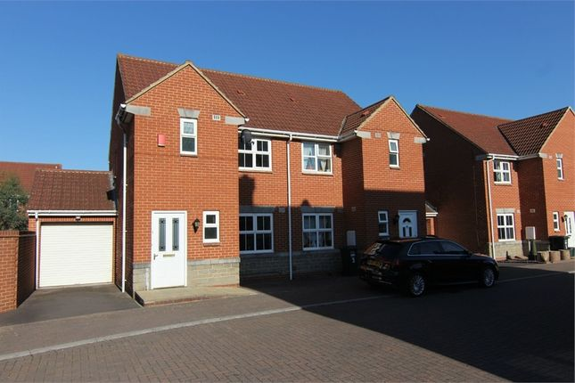 Thumbnail Semi-detached house for sale in Dormeads View, Weston-Super-Mare