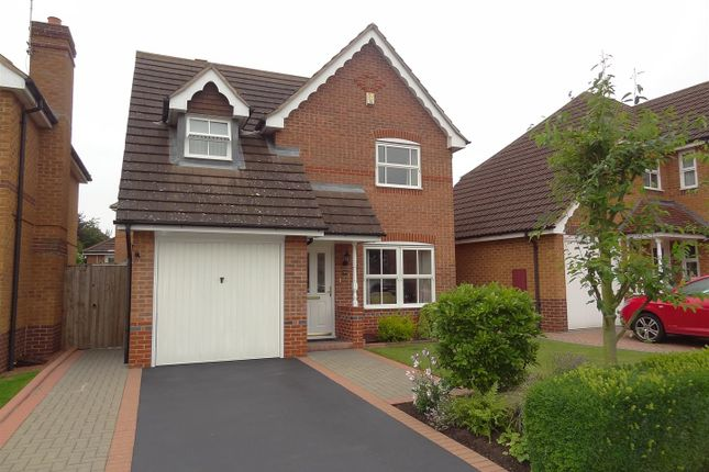 3 bed detached house for sale in Hood Close, Sleaford